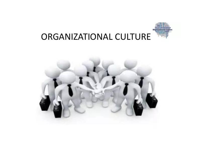 Developing an Organizational Culture in a Hotel